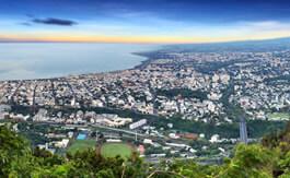 Une ville à La Réunion