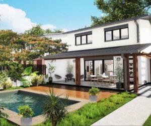 Une villa neuve avec piscine à La Réunion